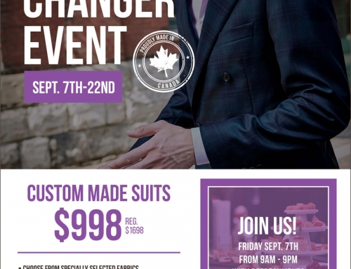 The Game Changer- Made to Measure Suit Event – Two Weeks Only